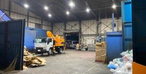 廃棄物処分LED導入