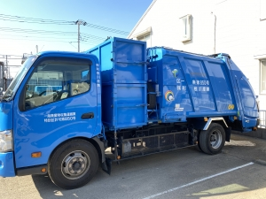厨芥車(パッカー車)東京23区特別区_一般廃棄物収集運搬車両