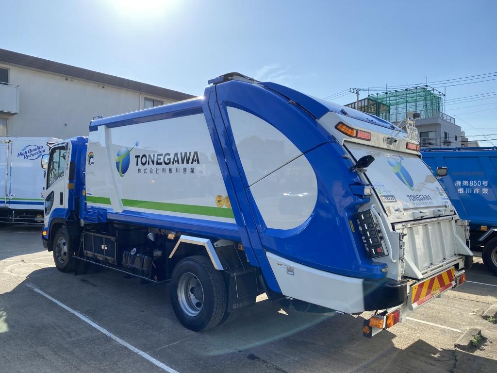 収集 仕組み ゴミ 車 [ パッカー車(塵芥車)について
